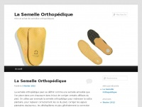 semelle-orthopedique.com