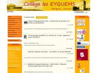 Site du collège les Eyquems