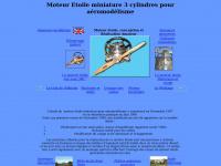 Moteur.etoile.free.fr - Moteur etoile étoile 3 cylindres modelisme aéromodélisme maquette avion mecanique outil amateur auvergne engine star model making