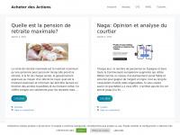 acheterdesactions.info