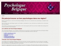 psychologue-belgique.be