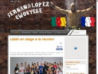 Fernand Lopez Owonyebe Official's WebSite - Actualités