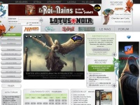 Lotus Noir : Le Magazine des Jeux de Cartes à Collectionner (Magic, Wow, Wakfu,..)