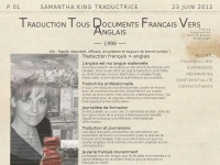 samantha-king-traduction.com