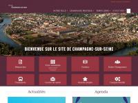 Site officiel de la ville de Champagne-sur-Seine - Accueil