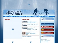 Hockey Matane inc | Association de hockey mineur