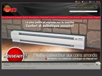 Accueil | STELPRO | Chauffage, CVAC, Thermostats, Ventilation