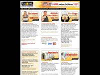Accueil|infographie|cartes d'affaires|Logos|imprimerie|article promotionnel|référencement|positionnement