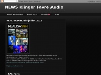 NEWS Klinger Favre Audio