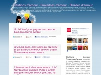 Citations d'amour - Proverbes d'amour - Phrases d'amour