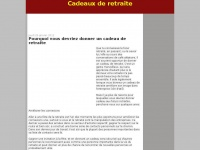 Cadeaux-de-retraite.blogspot.com