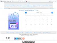 CALENDRIER FEVRIER 2014 : LE CALENDRIER DU MOIS DE FEVRIER 2014 GRATUIT A IMPRIMER - AGENDA
