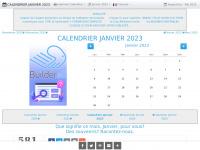 CALENDRIER JANVIER 2014 : LE CALENDRIER DU MOIS DE JANVIER 2014 GRATUIT A IMPRIMER - AGENDA