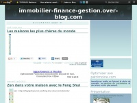 Le blog de immobilier finance gestion.over-blog.com