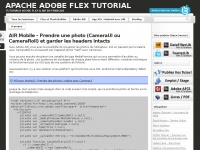 Flex-tutorial.fr