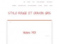 stylo-rouge-et-crayon-gris.fr