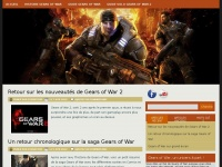 Gears of War France- Actualité sur le jeu de guerre Gears of War