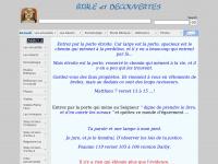 Bible et découvertes