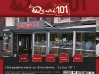 restaurantlequai101.fr