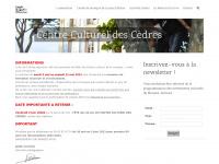 Centrecultureldescedres.fr