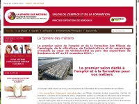 laspheredesmetiers.com
