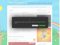 Pour-enfants.net | Sélection de sites pour enfants, parents et enseignants