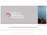 mariage-productions.com