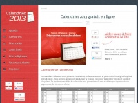 Calendrier2013.net
