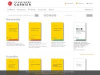 classiques-garnier.com