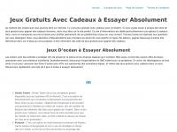 OCEANY LAND : Jeux en ligne pour gagner des cadeaux