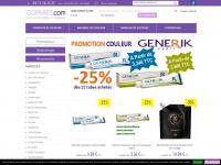 COPARES : Vente en ligne de produit, matériel et mobilier de coiffure